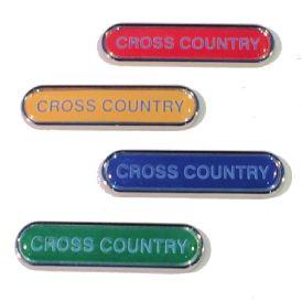CROSS COUNTRY badge
